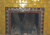 Mexican Tile In Fireplaces