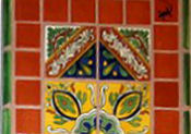 Mexican Tile In Trays