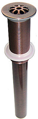 Polished Copper Bathroom Sink Drain MT749 ACP