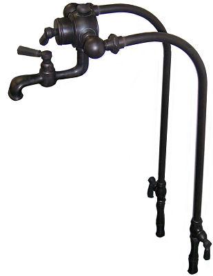 Oil Rubbed Bronze Floor Mount Bathtub Faucet F311M-AHAFOC