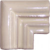 Mexican White Chair Rail Corner Molding