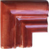 Terracota Chair Rail Corner Molding