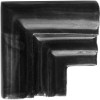 Black Chair Rail Corner Molding