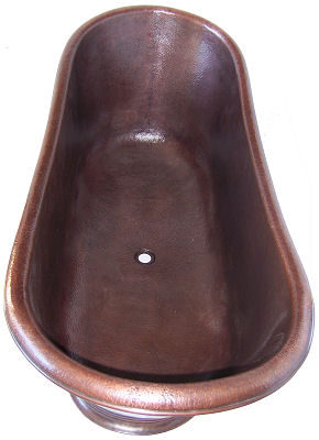 Royal Copper Bath Tub Details
