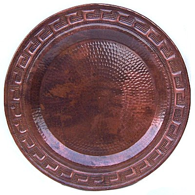 Merida Hammered Copper Plate