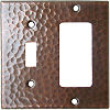 Switch-Decora Hammered Copper Plate