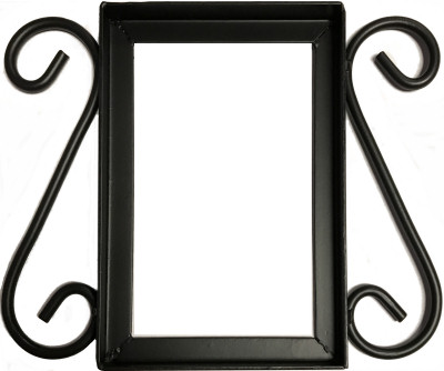 Wrought Iron House Number Frame Mission 1