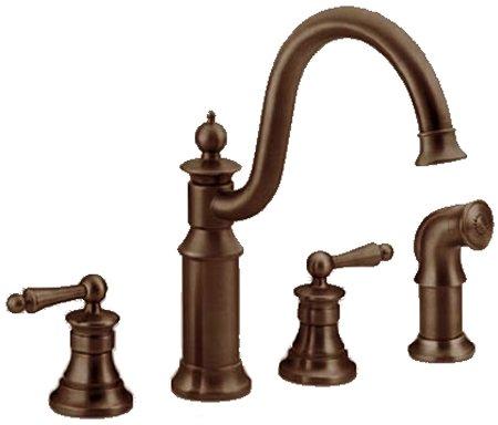 Bronze Kitchen Sink : Oil Rubbed Bronze Kitchen Sink Faucet > 361125-3