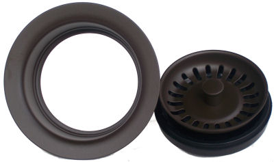 Oil Rubbed Bronze Kitchen Sink Flange MT200 ORB Close-Up
