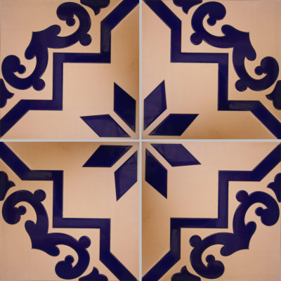 Blue Carpeta Floor Tile Details