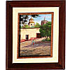 Saint Loreto House. Mexican Contemporary Oil Painting