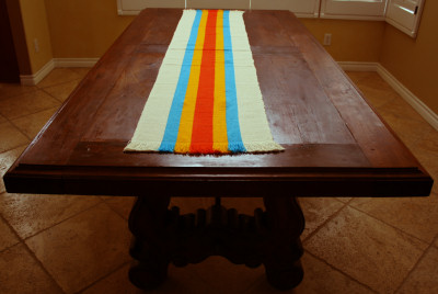 Multicolored Mexican Runner