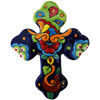Rainbow Medium Talavera Mexican Cross