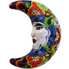 Mexican Talavera Ceramic Moon Face