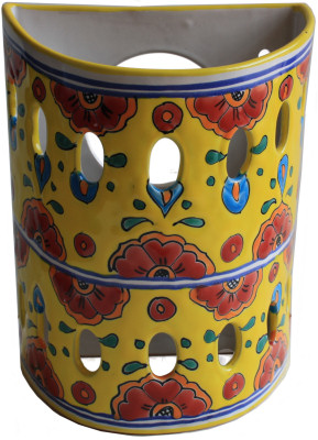 Canary Talavera Ceramic Sconce
