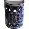 Blue Talavera Ceramic Sconce