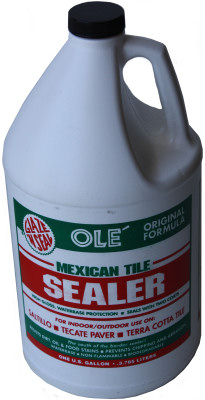 Saltillo Tile Sealer. Glaze N Seal OLE Sealer