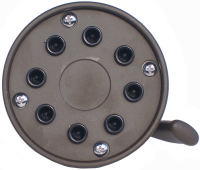 8-Jet Oil Rubbed Bronze Shower Head MT1008 ORB Details