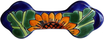 Sunflower Talavera Ceramic Drawer Pull