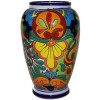 Colorful Mermaid Talavera Flower Vase