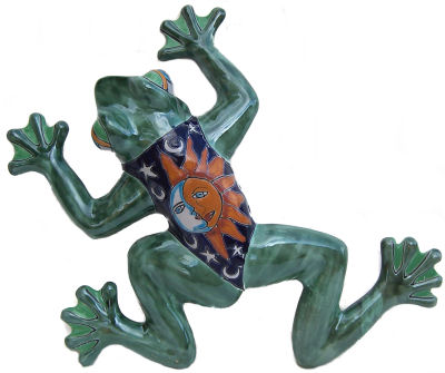 Eclipse Talavera Ceramic Frog