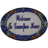Talavera Ceramic House Plaque. Welcome To Grandpas House