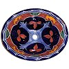 Multicolor Ceramic Talavera Sink