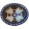 Blue Mesh Ceramic Talavera Sink