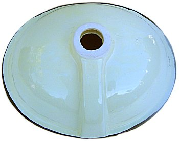 Yellow Greca Ceramic Talavera Sink Details