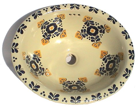 Hacienda Ceramic Talavera Sink