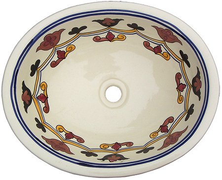 Colorful Ceramic Talavera Sink
