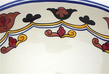 Colorful Ceramic Talavera Sink Close-Up