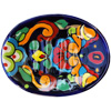 Rainbow Mexican Talavera Soap Dish