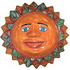Big Desert Talavera Ceramic Sun Face