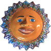 Big Multicolor Talavera Ceramic Sun Face