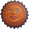 Big Talavera Ceramic Sun Face