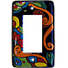 Rainbow Talavera Single Decora Switch Plate
