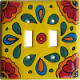 Canary Talavera Ceramic Double Switch Plate