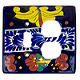 Marigold Talavera Toggle-Outlet Switch Plate