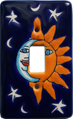 Eclipse Talavera Ceramic Switch Outlet