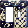 Traditional Talavera Toggle-GFI Switch Plate