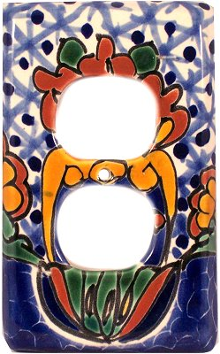 Outlet Turtle Talavera Switch Plate