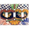 Triple Toggle Mantel Talavera Switch Plate