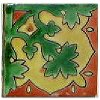 Alhambra Corner Forest Talavera Mexican Tile