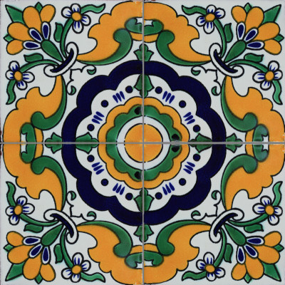 Aven Santa Barbara Mexican Tile  Close-Up