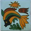 Striped Fish Talavera Mexican Tile
