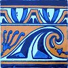 Waves Talavera Mexican Tile