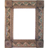 Medium Brown Morelia Tile Talavera Tin Mirror