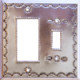 Toggle-Decora Silver Tin Switchplate