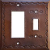Toggle-Decora Antique Tin Switchplate